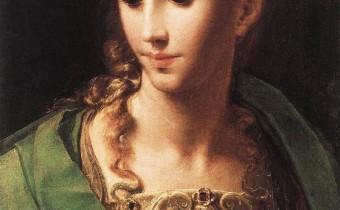 Parmigianino, Pallas Athene 1539
